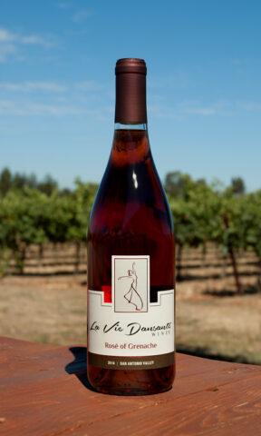 Photo of Grenache Rose Bottle