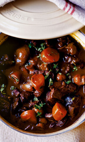 Photo of Venison Bourguignon