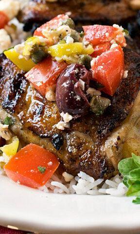 Photo of Grilled Mediterranean Chicken